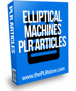 elliptical machines plr articles