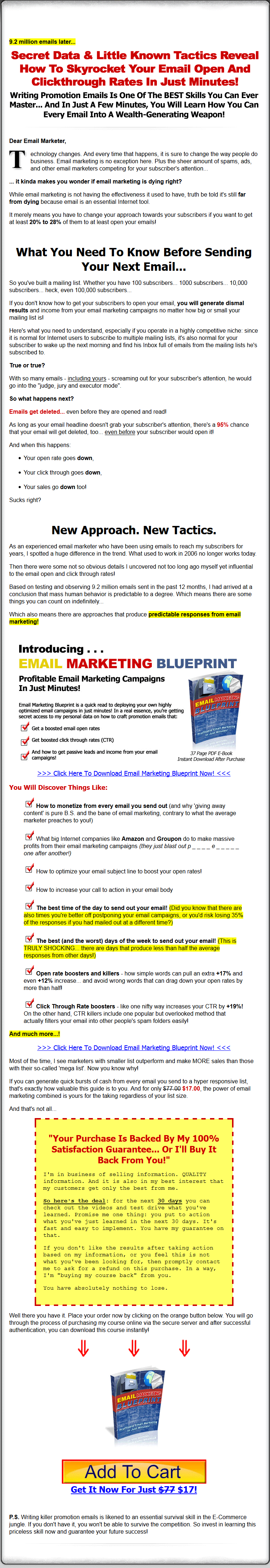 Email marketing email marketing blueprint mrr ebook malvernweather Gallery