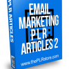 Email Marketing PLR Articles 2