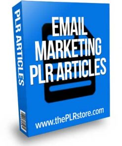 Email Marketing PLR Articles
