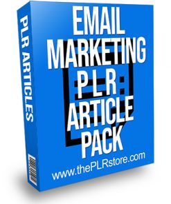 Email Marketing PLR Article Pack