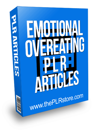Emotional Overeating PLR Articles