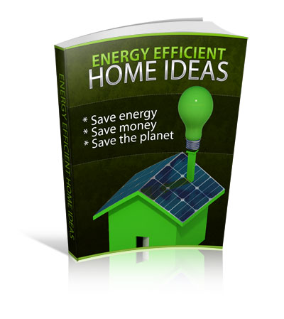 energy efficient home ideas plr ebook