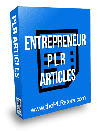 Entrepreneur PLR Articles