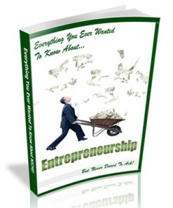 Entrepreneurship PLR Ebook