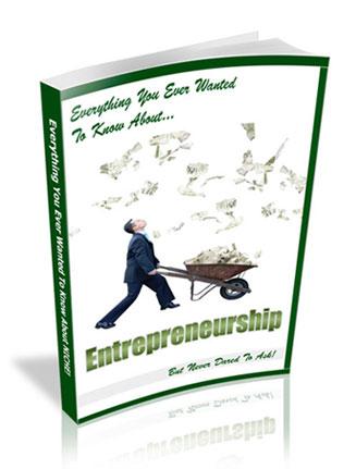 Entrepreneurship PLR Ebook