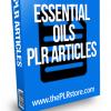 essential oils plr articles