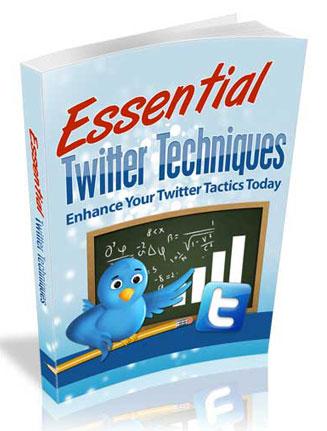 essential twitter techniques ebook