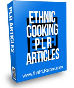 Ethnic Cooking PLR Articles