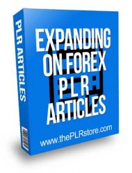 Expanding On Forex PLR Articles