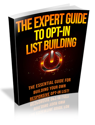 Expert Guide to Opt-In List Building PLR Ebook