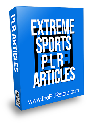 Extreme Sports PLR Articles