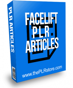 Face Lift PLR Articles