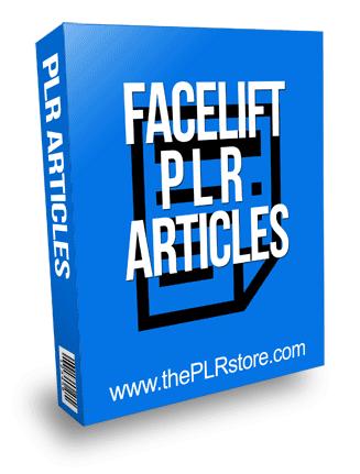 Face Lift PLR Articles