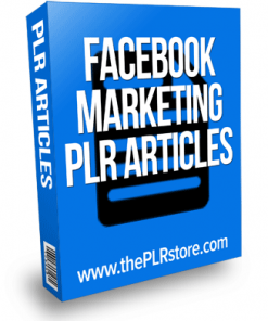 Facebook Marketing PLR Articles