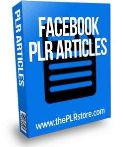 facebook plr articles