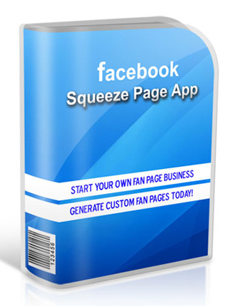 facebook plr squeeze page app