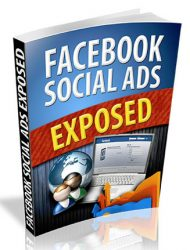 facebook social ads exposed plr ebook facebook social ads exposed plr ebook Facebook Social Ads Exposed PLR Ebook with Private Label Rights facebook social ads exposed plr ebook 190x250