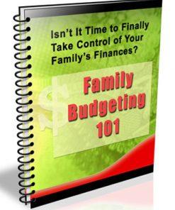 Family Budgeting PLR Autoresponder Messages