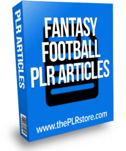 fantasy football plr articles