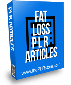 Fat Loss PLR Articles