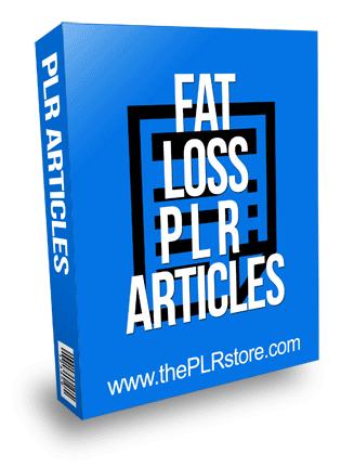 Fat Loss PLR Articles