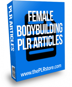 female bodybuilding plr articles