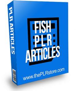 Fish PLR Articles