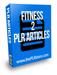 fitness plr articles fitness plr articles Fitness PLR Articles 2 fitness plr articles 2 190x250