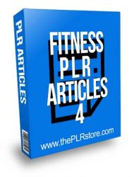 Fitness PLR Articles 4