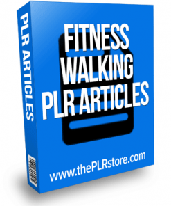 fitness walking plr articles