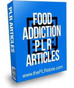 Food Addiction PLR Articles