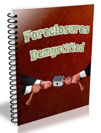 foreclosures demystified plr ebook