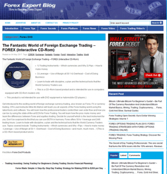 forex expert plr website