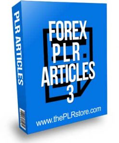 Forex PLR Articles 3