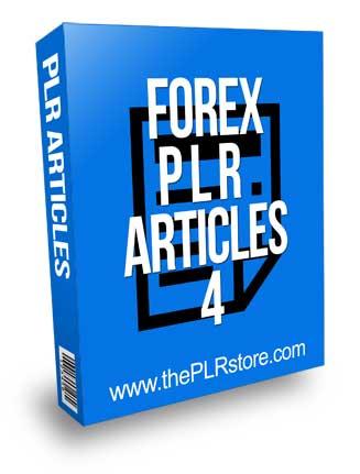 Forex PLR Articles 4