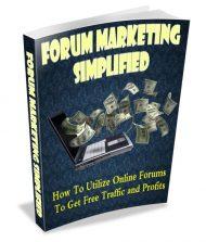 forum-marketing-simplified-plr-ebook-cover  Forum Marketing Simplified PLR Ebook forum marketing simplified plr ebook cover 190x223