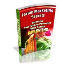 forummarketingsecretslarge  Forum Marketing Secrets PLR eBook forummarketingsecretslarge 190x213
