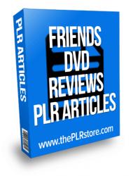 friends dvd reviews plr articles