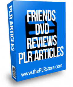 friends dvd reviews plr articles