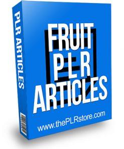 Fruit PLR Articles