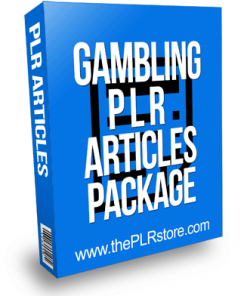 Gambling PLR Articles package