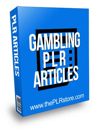 Gambling PLR Articles