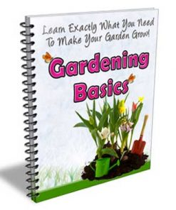 Gardening Basics PLR Autoresponder Messages
