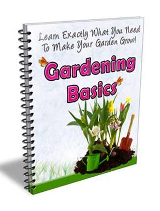 Gardening Basics PLR Autoresponder Messages