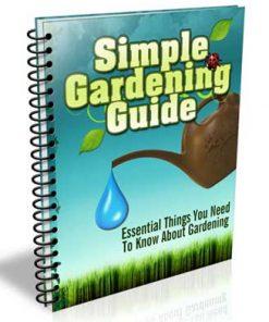 Gardening Guide PLR Listbuilding Package