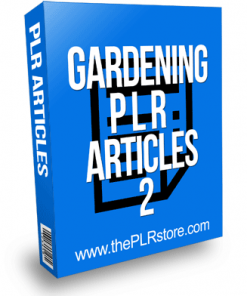 Gardening PLR Articles 2