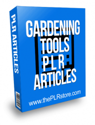 Gardening Tools PLR Articles