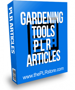 Gardening Tools PLR Articles