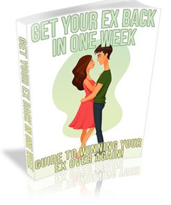 Get Your Ex Back in One Week PLR Ebook